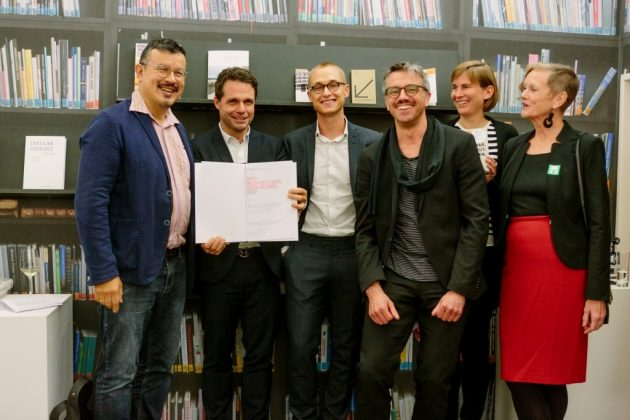 Preisverleihung des DAM Architectural Book Awards 2017 in Frankfurt.